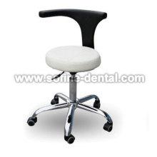 Tamborete ajustável de assistente dentária