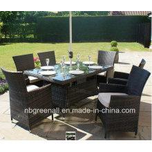 Patio Outdoor Rattan Gartenmöbel Stuhl Tisch Set