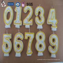 Venta directa Nuevo Diseñado Varios Modelo Doble Capa Fabricante de Vela de Cumpleaños