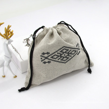 Wholesale Large Organizer Cotton Canvas Drawstring Bag For Women And Girls Travel Drawstring Makeup Pouch Bag