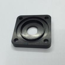 Acessórios personalizados de alumínio anodizado preto