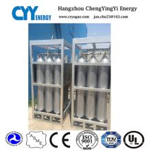 Hochdruck-Sauerstoff-Argon-Stickstoff-Kohlendioxid-Zylinder-Zahnstange