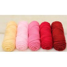 Dyed Baby Knitting Yarn Natural Fiber Combed 100% Cotton Yarn