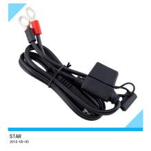 Terminal de anillo eléctrico de batería personalizada con cableado de cableado