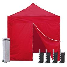 Camping 4 parois à glissière pliante 8x8 tente auvent
