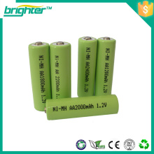 ni-mh battery pack aa 1200mah for alcohol tester