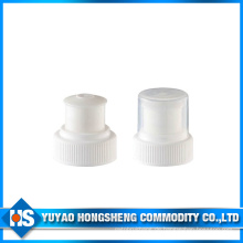 Hy-Cp09 28/400 Weiß Push Pull Flasche Cap mit Half Cover
