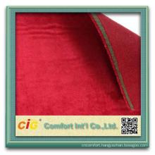 Latest design wholesale polar fleece for shoes foam laminated fabric
