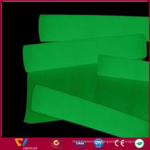 PET glow in the dark plastic sheet / Glow in the dark reflex vinyl sheets sticker