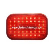 Luz del carro del LED con 50LEDs y lente roja de la raya