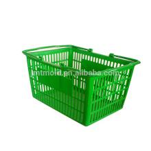 Diseño atractivo modificado para requisitos particulares Moldes de la cesta del fabricante del molde de Taizhou