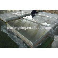 Placa de alumínio / Folha 1050 para construção com melhor preço e qualidade