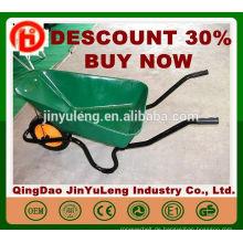 CHINA QingDao Günstige WB3800 Schubkarre für Südafrika Garten Werkzeug Beton Schubkarre 3800