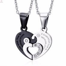 atacado acessível prata para sempre amor design de jóias pingente