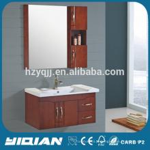 Criação de água Espresso Single Sink Bathroom Cabinet Combo