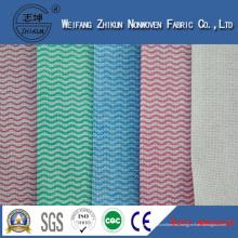 Tela al por mayor de Spunlace de la tela no tejida de China para la cocina