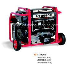 Lutian tipo gasolina gerador 5.0kw/6.0kw/7.0kw