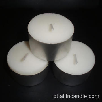 Vela decorativa de Tealight do alumínio de 8g 10g 14G