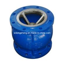 Фланцевый бесшумный обратный клапан для водяного насоса