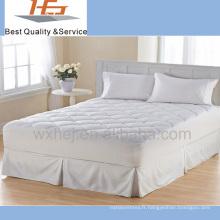 100% polyestère matelassé élastique couvre-matelas / protège-matelas