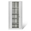 Metal Tambour Door Cabinet Rolling Cupboard