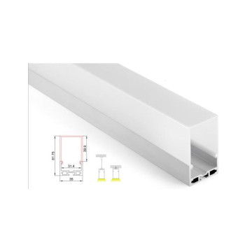White Lighting Solution Lineares Licht