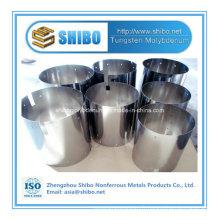 Bouclier de réflexion de molybdène de grande pureté d'approvisionnement d'usine pour le four croissant de saphir