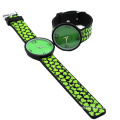 Utility Thin Silicone Waterproof Quartz Wristwatch