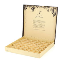 Wholesale Custom Printed Food Paper box Grade Rigid Cardboard Candy Chocolate Baklava Box