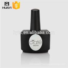 Botellas vacías al por mayor del esmalte de uñas de la forma única 8ml 10ml 15ml