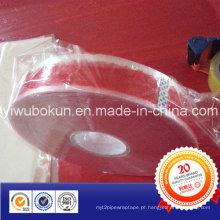Fita de embalagem de 1000meters BOPP com impressão do logotipo