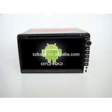 Quad core! Voiture dvd avec lien miroir / DVR / TPMS / OBD2 pour 6,95 pouces écran tactile quad core 4.4 Android système universel
