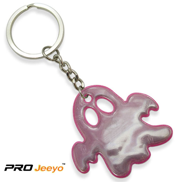 Reflective Pink Pvc Ghost Shape Pendant Rv 210 4 Pink