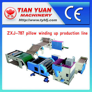 Automatic Pillow Winding up Production Line (ZXJ-787)