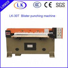Machine à poinçonner en plastique hydraulique pour blister en plastique