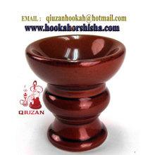 Haute qualité narguilé chicha céramique bol Clay tête de gros