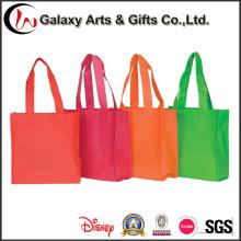 para supermercado não tecida saco de compra Foldable de dobramento reciclado Tote Bag