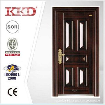 2014 New Design Security Steel Door KKD-106 With New Pait Main Door Made In China