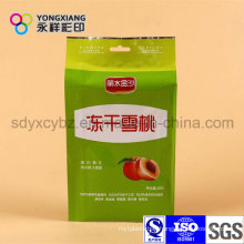 Customized Dry Fruit Snack Food Packaging Bag with Handhole
