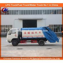 Dongfeng 4 X 2 Mini Ordena Compacteur Camion Compactor