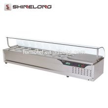 K377 8 Pans Stainless Steel Electric Cool And Warm Bain Marie