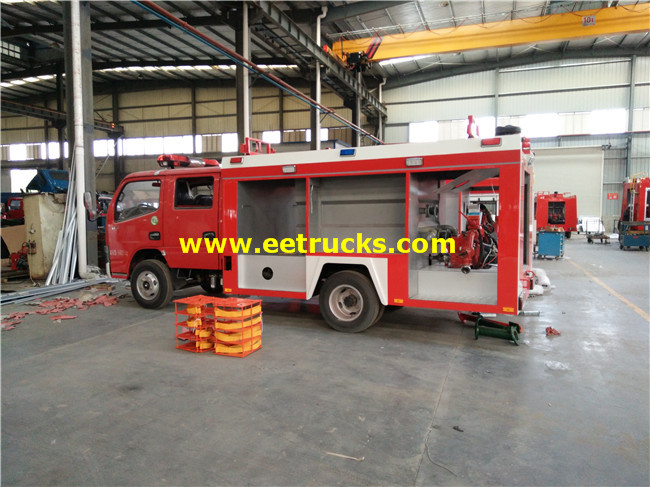 Dongfeng 5000L Fire Fighting Trucks