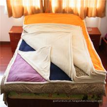 Veludo e cobertor composto super macio