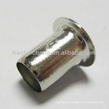 Parte / remache de embutición profunda de acero inoxidable y parte / remache de operación de estirado usado para calentador eléctrico de enfriador de agua