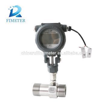 clamp connection turbine digital liquid flow meter