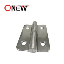 Heavy Duty Zinc Alloy Die-Cast Folding Butt Door Hinges for Aluminium Profile Extrusion