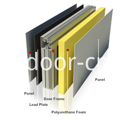 Aluminum Alloy Frame for Automatic Hermetic Doors