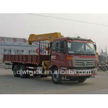 Hot Sale Foton 6x4 truck mounted crane 9-12 ton