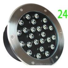 D250mm Landscaping 24W LED Floor Light