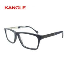 Novo acetato com óculos de acetato masculino de fibra de carbono, molduras ópticas de acetato de forma nova 2018